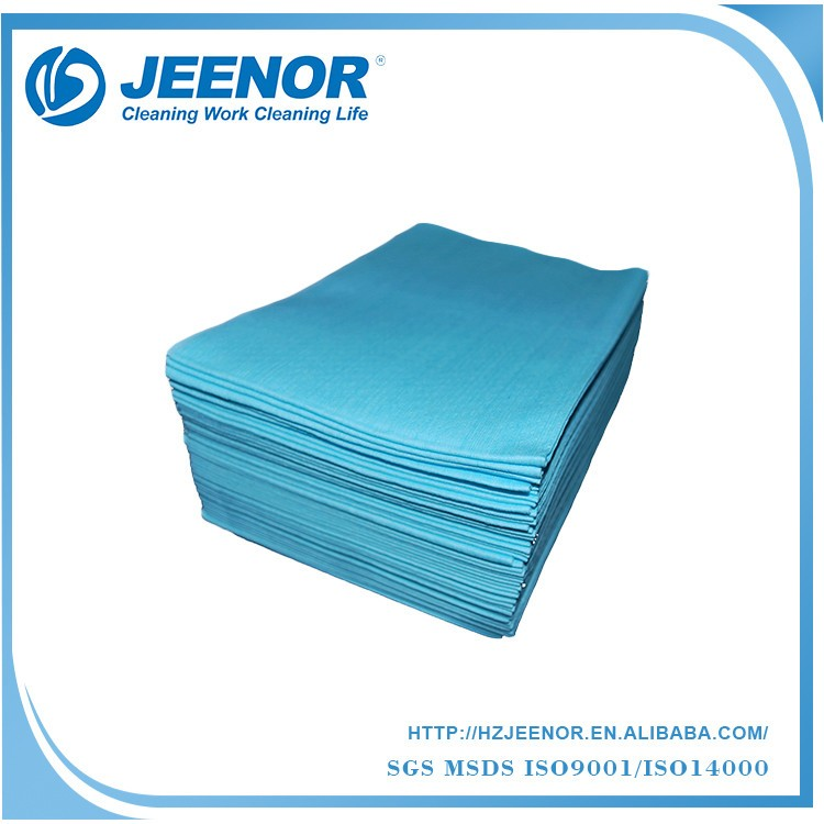 Professional V70 Soft Lint Free Blue Industrial Wiping Paper Towel, Woodpulp Industrial Paper