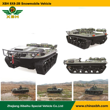 8X8-2B snowmobile Amphibious vehicle snowland desert swamp gasoline track drive ATV