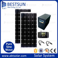 BESTSUN BFS-800W Popular Promotion Portable Off grid Solar panel Kits Solar power system with battery charger