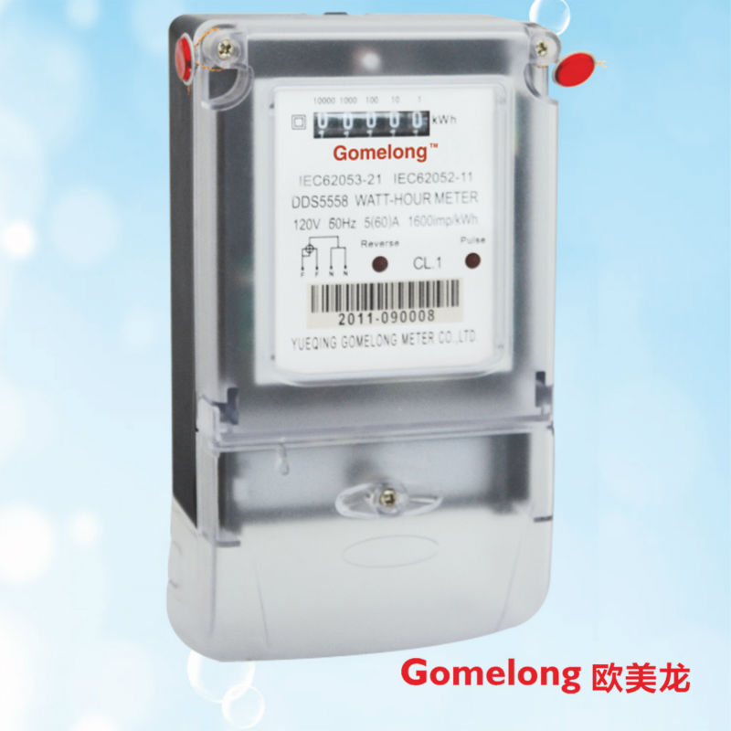 DDS5558 digital electric meter reverse