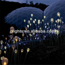 side emitting fiber optic lighting art lighting