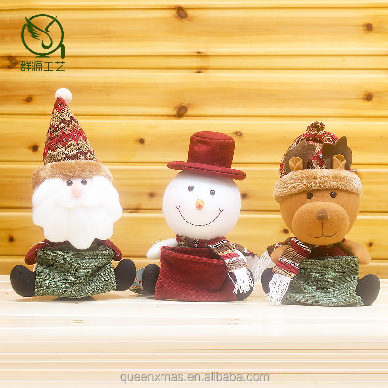 Made In China,Funny Handwork new Christmas Dolls decoration wholesale