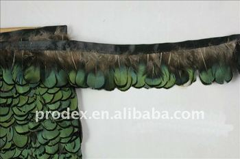 pheasant feather, feather trimming, rooster feathers, feather dress,