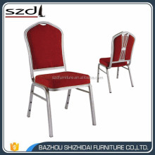 Free Sample Cheap Stackable Hotel Wedding Used Aluminum Gold Banquet Chairs For Sale SDB-206