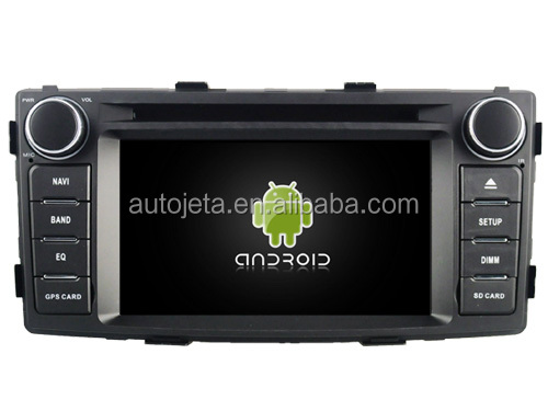 Android 7.1.1 2GB ram car dvd Audio player FOR HILUX 2012 -2015 innova auto gps stereo media radio head unit receiver BT 3g WIFI