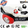 super bright 3 LED reading headlamp 2xCR2032 included
