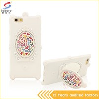 Latest design TPU mobile phone cover for iphone 6 case mirror