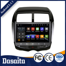 10.2 inch double din Android car dvd multimedia navigation system media player with GPS