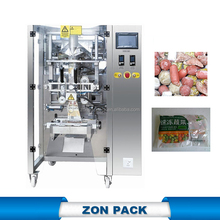 Frozen food packaging machine chicken meat packing for plastic bags