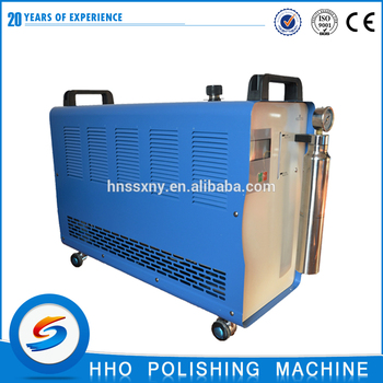 HHO400 easy operating small desktop acrylic diamond edge polishing machine