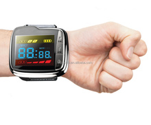Health care home use physical wrist watch blood cleaner OEM 650nm lllt semiconductor laser blood pressure instrument