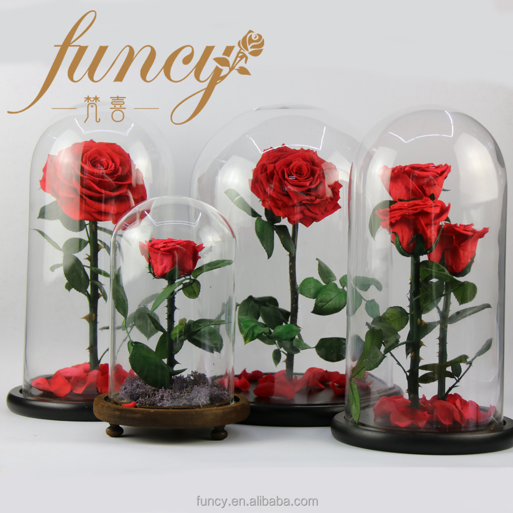 Factory Supply Forever Rose Flowers Perfect Birthday Teachers Day Valentines Gifts For Husband And Wife