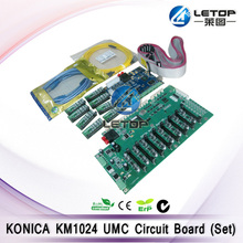 Umc board ver.1.4d for myjet printer konica 1024 printhead mother board head board connector(one set)