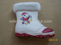 High quality felt child snow boots