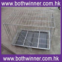 "KA026 48"" folding pet crate kennel wire cage for dogs /cats or rabbits"