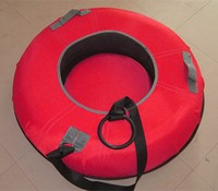 round boat snow sled cover
