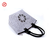 2017 hot selling fashion ladies felt handbag made in China