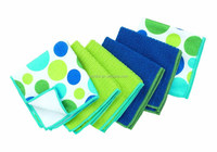 The perfect scrubber, dish cloth, sponge and scouring pad
