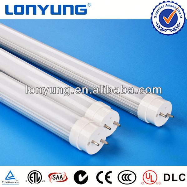 t8 led tube light ETL DLC VDE TUV SAA CE ROSH Approved 2 inch round led lights 3years warranty