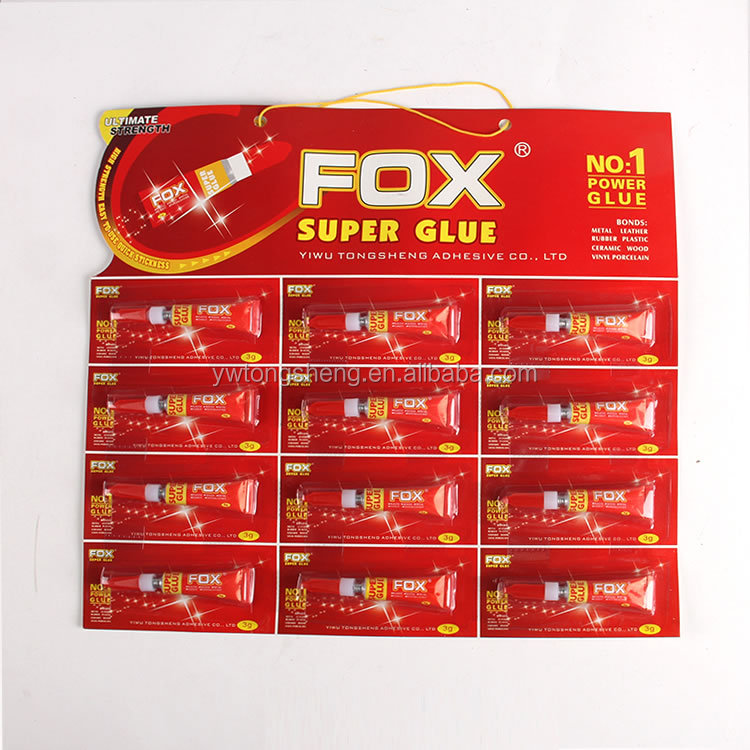 High quality 3g super glue rill Cyanoacrylate Glue Super Glue