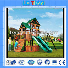 wooden playground equipment plans for sale LT-2075D