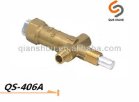 QS 406AD patio heater fireplace gas pusle valves