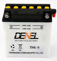 High-performance motor battery/ lead acid Motorcycle accessories 12v4ah