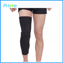 2015 hot selling Compression Honeycomb running Knee Pads Football Sports Kneepad Pad for basketball