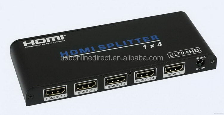 Super quality hotsell 1x4 hdmi splitter to coaxial