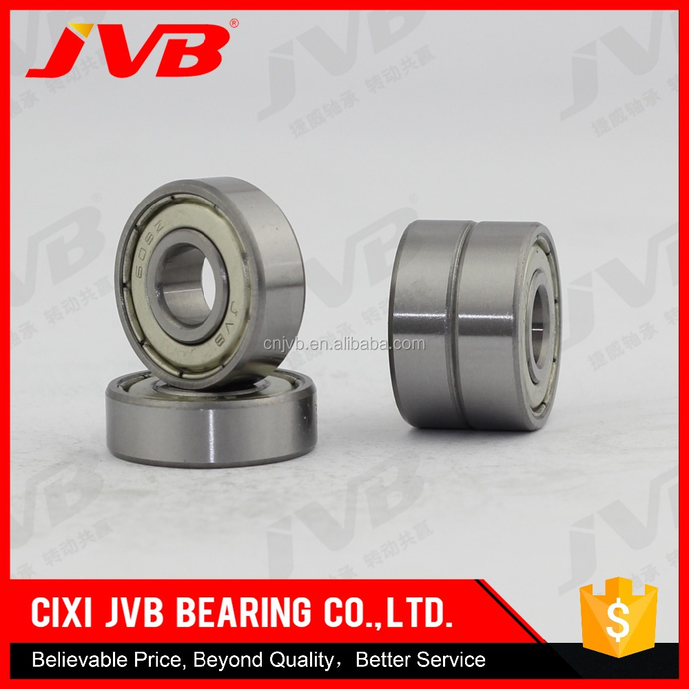 2016 Hot Sale Made in China High Speed and Low Noise miniature bearing with rubber seal 608 2rs