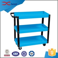 Custom made cheap alloy durable workshop tool trolley