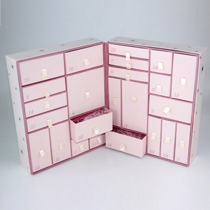 24 drawers Advent Calendar for cosmetics