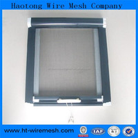2015 hot sale fireproof fiberglass window screen