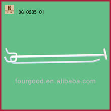 Pared del listón de metal display hook & saltwall hook & display gancho