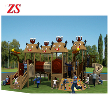 Wholesale hot sale kids wooden outdoor playground