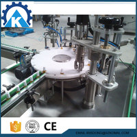 rotary type automatic nail polish remover filling machine