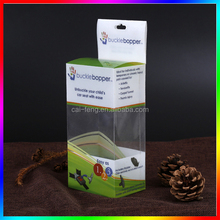 new style popular pvc transparent packaging box