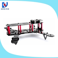 2014 USA hot sale Multicopter UAV Carbon Fiber Quad Frame qav250