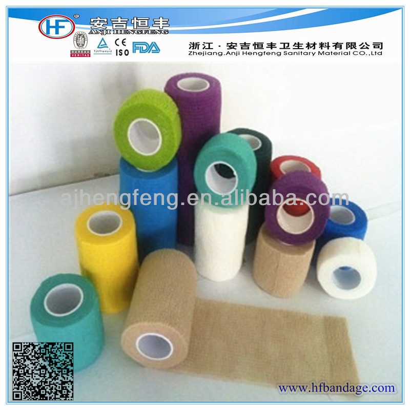 Pet products medical elastic cohesive bandage ISO/CE