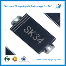 Surface Mount Schottky Barrier Rectifier Diode SK34 SMD Diode