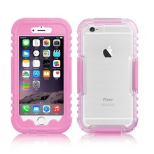 Full Cover Sealed Protective PC Waterproof Phone Case For iPhone 6 Back Cover