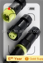 Yuyao Sineyi PA welding EC02681-0024-BF2PIN 250V 15A waterproof electrical connectors