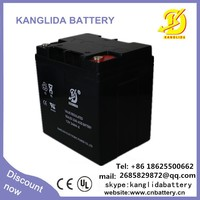Low Self-Discharge UPS Solar Lead Acid Battery 12V 24AH