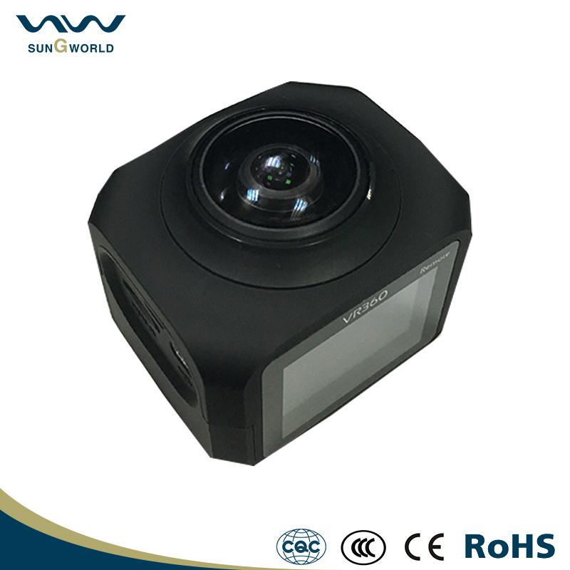 2016 New Wifi action sport camera 360 degree wireless camera
