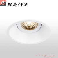 Australian Standard C-tick SAA Certification 10W LED Downlight Dimmable LED downlight with external driver