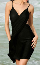 Beach Sarong cover up in organic, bamboo spandex and normal cotton