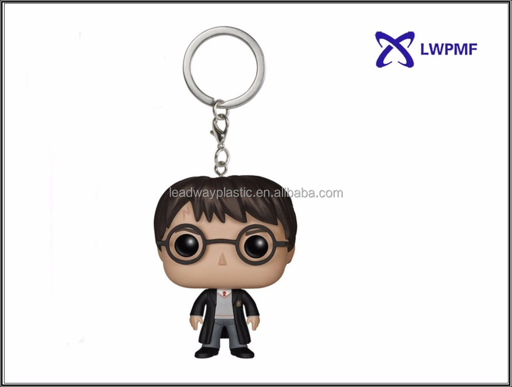 Warner Bros. Harry Potter funko pop figure keychain for souvenir