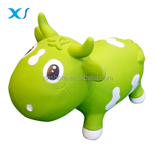 Kid Inflatable Hopping Riding Jumping Animal Horse Toy , Pump Included