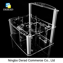 PC-D003N Transparent Acrylic Opening Free Computer System Unit Computer Tower