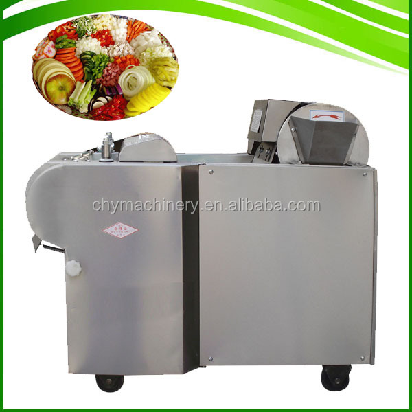 Stainless steel good use industrial fruit okra Lotus cutter chopper slicer vegetable cutting machine